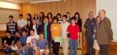 Un guante para manejar el ordenador y un nuevo modelo de boya, Premios Galicia Junior