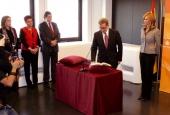 Toma posesión el nuevo secretario de Estado de Investigación, Felipe Pétriz