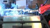 Investigadores brasileños acuden al Centro Tecnológico gallego AIMEN para mejorar la innovación y la formación de la industria metalmecánica de Brasil