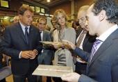 La ministra Cristina Garmendia visita el Centro de Aplicaciones Láser (CAL) que el Centro Tecnológico AIMEN está construyendo en Porriño