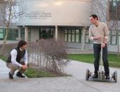Ingenieros de la UVigo diseñan un innovador patinete eléctrico de bajo coste