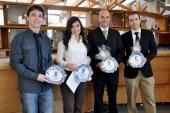 Una empresa de prótesis a medida para animales gana la segunda edición del Premio Bancaja de Jóvenes Emprendedores de la Universidade de Vigo