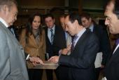 La delegada de la Xunta de Galicia en Vigo, María José Bravo, visita el Centro Tecnológico AIMEN