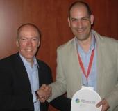 La empresa gallega Queres Tecnología, ganadora del Premio Alfresco a la Mejor Solución del 2012
