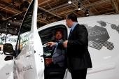 Presentadas en el Salón del Automóvil de Hannover las dos nuevas furgonetas eléctricas gallegas