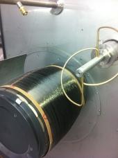 Fibra de pizarra, material pionero desarrollado en Ourense