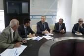 Los rectores de las tres universidades gallegas evalúan con la Xunta de Galicia los principales retos en materia de innovación