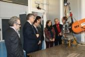 La secretaria general de Ciencia, Tecnología e Innovación y presidenta del CDTI visita los centros tecnológicos integrados en la Alianza Tecnológica Intersectorial de Galicia (ATIGA)
