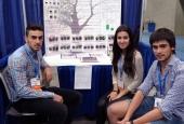 """Un detector de lluvia ácida desarrollado por tres estudiantes ourensanos, entre los finalistas del certamen nacional """"Jóvenes Investigadores"""""""