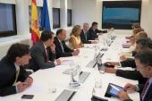 Economía y Competitividad, Xunta de Galicia y el Gobierno portugués estudian intensificar la colaboración en el Laboratorio Internacional de Nanotecnología