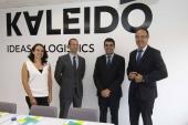 La Gain elogia la apuesta por la innovación de la empresa de logística integral Kaleido para mantener su competitividad en el sector