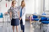 Inventan una muleta inteligente que avisa al paciente en caso de uso incorrecto