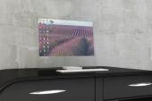 Idean un monitor que se vuelve transparente cuando está apagado