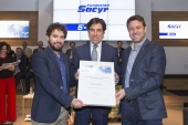 La startup EPC Traker, ganadora de la V Edición de los Premios Sacyr de Innovación