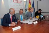 La Xunta renueva su contrato con el CSIC para el desarrollo de programas de I+D+i en sus centros de investigación ubicados en Galicia