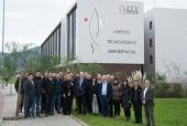 Zona Franca de Vigo presenta el funcionamiento del Centro de Innovación Aeroespacial a una delegación de Airbus