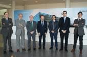 El presidente de CEAGA visita AIMEN para conocer su potencial en tecnología láser aplicada al sector de automoción