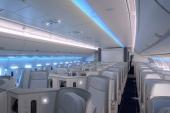 Diseñan un sistema de luces inteligente para aviones que evita el jet lag