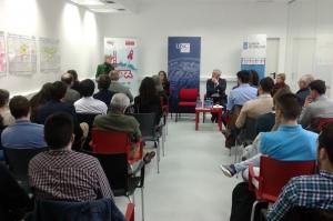 Inaugurada la VIII edición de Santander Yuzz en Santiago de Compostela