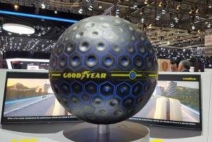 Goodyear presenta un prototipo de neumático que integra inteligencia artificial