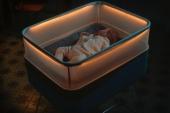 Diseñan una cuna inteligente que simula los efectos de un coche en movimiento para facilitar el sueño de los bebés