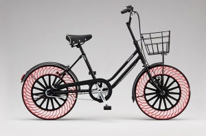 Idean unos neumáticos para bicicletas que no necesitan aire