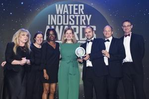 AIMEN recibe el Premio de la Industria del Agua del Reino Unido por su proyecto INCOVER