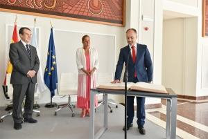 David Regades toma posesión como Delegado del Estado en el Consorcio de la Zona Franca de Vigo