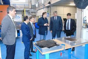 El director de Navantia Ría de Ferrol visita AIMEN  para avanzar las actuaciones de la UMI NAUTILUS