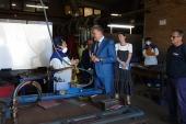La Xunta visita en AIMEN Centro Tecnológico a los alumnos participantes en el Plan gallego de formación